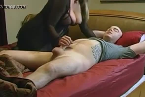 Hidden cam homemade sex with blonde milf